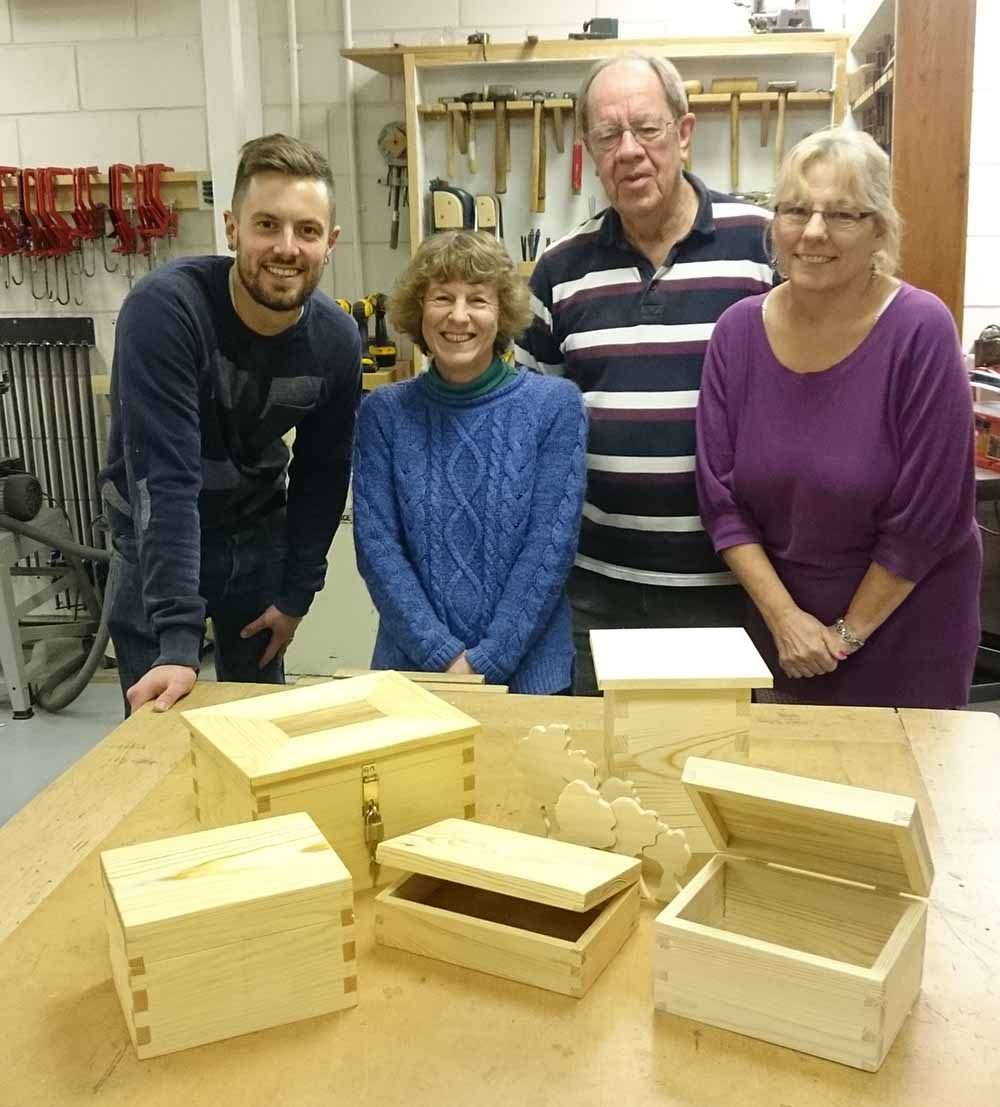 Results from the Woodwork Beginners course